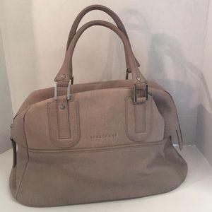 Lonchamp Large Cosmos leather satchel